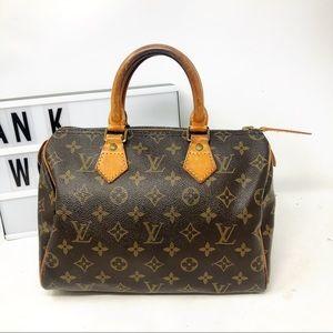 Louis Vuitton speedy 25 Monogram top handle bag